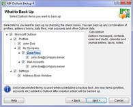 ABF Outlook Backup tour